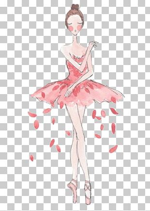 Ballet Dancer Drawing PNG