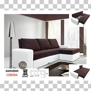 Sofa Bed Parchment Faux Leather (D8568) Couch Furniture Living Room PNG