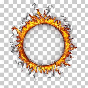 Ring Of Fire Circle PNG