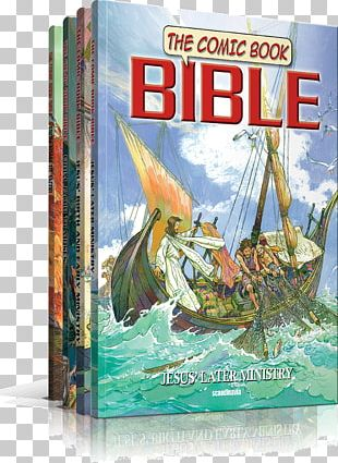 The Comic Book Bible New Testament Book Of Revelation PNG