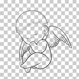 Tattoo Drawing Angel Infant Child PNG