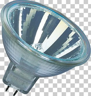 Light Halogen Lamp Multifaceted Reflector Dichroic Filter PNG