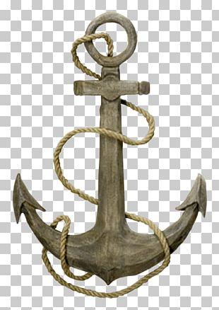 Anchor Rope Ship Sailor Boat PNG