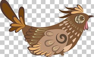 Bird Rooster Illustration PNG
