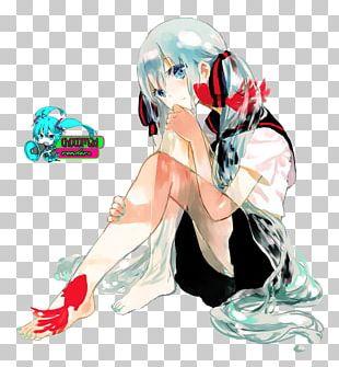 Hatsune Miku Anime Character Manga PNG