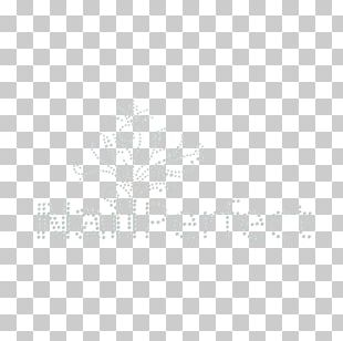 White Tree Line Font PNG