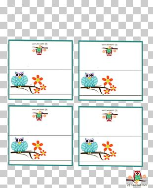 Baby Shower Place Cards Paper Infant PNG