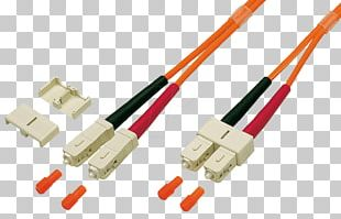 Optical Fiber Connector Patch Cable Multi-mode Optical Fiber Electrical Connector PNG