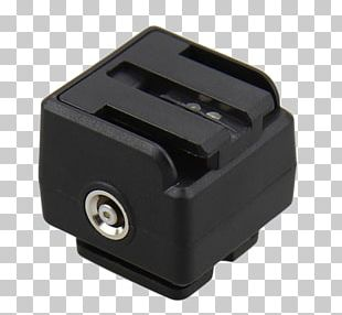 Adapter Hot Shoe Camera Flashes Photography PNG
