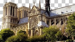 Notre-Dame De Paris Eiffel Tower Luxembourg Palace Strasbourg Cathedral PNG
