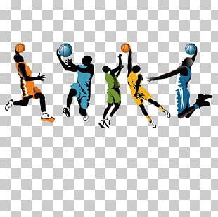 Basketball Illustration PNG