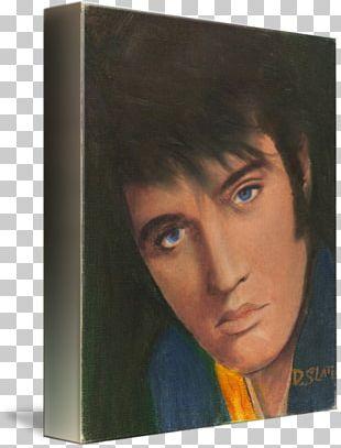 The Essential Elvis Presley Paint Self-portrait PNG