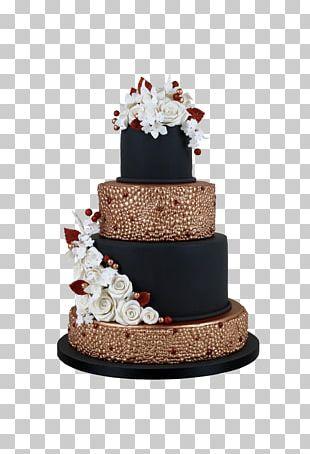 Wedding Cake Tart Torte Frosting & Icing Chocolate Cake PNG