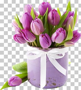 Flower Bouquet Tulip Cut Flowers Rose PNG