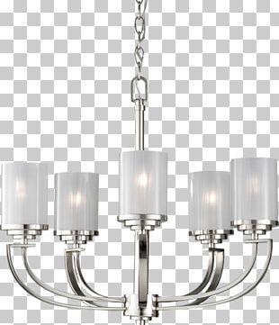 Chandelier Incandescent Light Bulb Lighting Light Fixture PNG