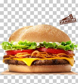 Hamburger Whopper Cheeseburger Big King Bacon PNG