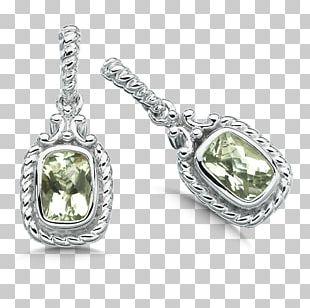 Earring Jewellery Necklace Locket Silver PNG
