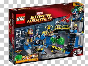 Hulk Lego Marvel Super Heroes MODOK Thor Falcon PNG
