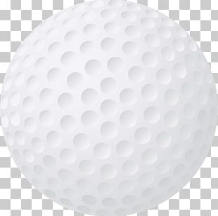 Golf Ball Circle PNG