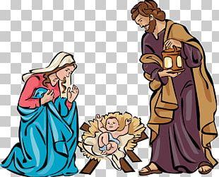 Nativity Scene Nativity Of Jesus Christmas Free Content PNG