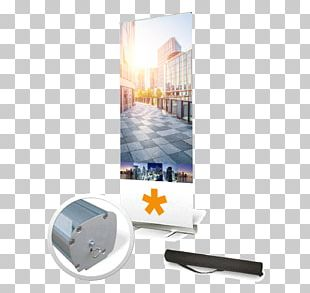 Roll-up Banner Web Banner Advertising Marketing PNG