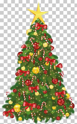Christmas Tree Christmas Day Santa Claus PNG