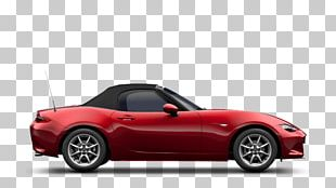 Mazda MX-5 Personal Luxury Car Convertible PNG