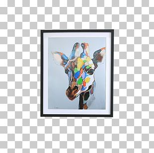 Oil Painting Abstract Art Canvas PNG