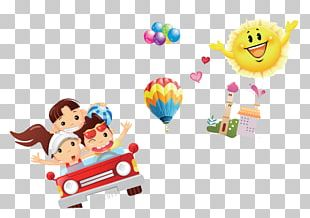 Child Cartoon Balloon PNG