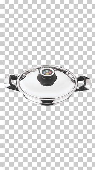 Frying Pan Tableware Silver Lid PNG