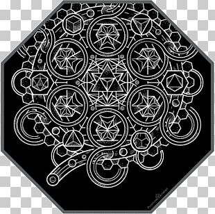 Sacred Geometry Art Pattern PNG