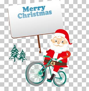 Santa Claus Christmas Euclidean Noel North PNG