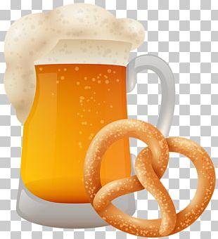 Beer Glasses Pretzel Oktoberfest Bavaria Brewery PNG