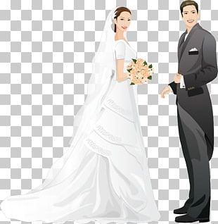 Wedding Invitation Marriage Bride Drawing PNG