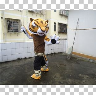 Mascot Tiger Costume Recreation Outerwear PNG