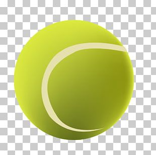 Tennis Ball Green Circle PNG