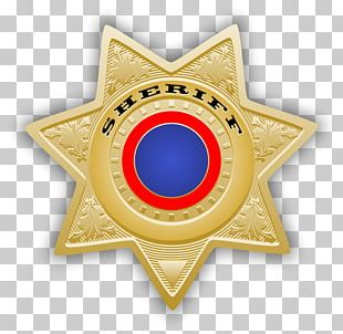 American Frontier Badge Sheriff United States Police Officer PNG