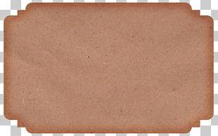 Kraft Paper Label Manufacturing Material PNG