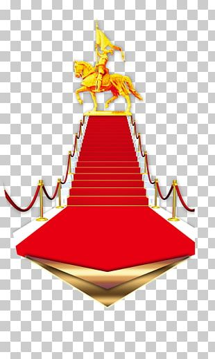 Stairs Fundal Red Carpet PNG