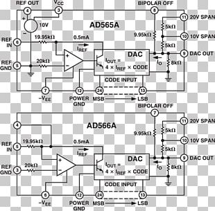 Analogue Electronics Digital-to-analog Converter Datasheet Analog Devices Electrical Switches PNG