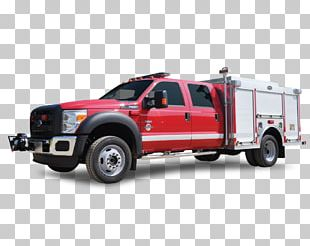 Pickup Truck Fire Engine Motor Vehicle Fire Department PNG