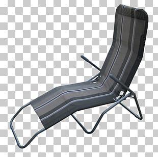 Furniture Eames Lounge Chair Chaise Longue Deckchair PNG