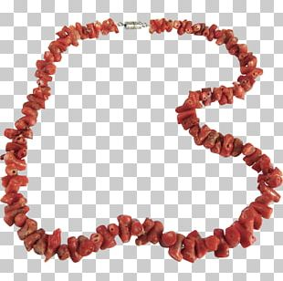 Jewellery Necklace Bracelet Choker Red Coral PNG