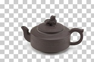 Kettle Teapot Tableware Pottery Lid PNG