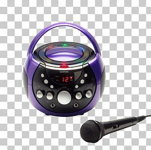 Microphone Karaoke CD+G Music Compact Disc PNG