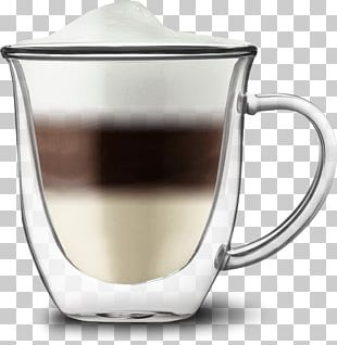 Coffee Cup Tea Cafe Glass PNG