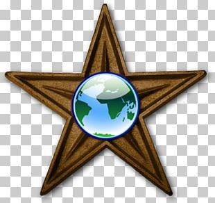 Internet Radio Five-pointed Star Greenstar Power Barnstar PNG