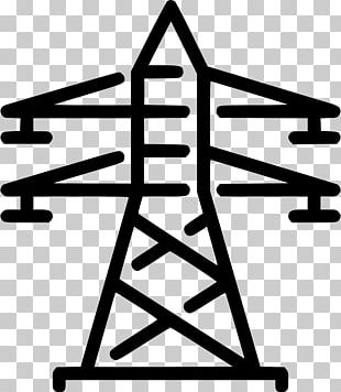 Transmission Tower Electric Power Transmission Computer Icons Electricity Electrical Energy PNG