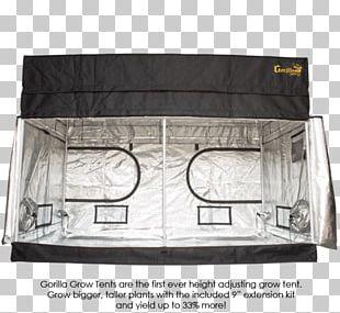 Gorilla Grow Tent Shorty Line Western Gorilla Canvas PNG