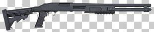 Shotgun Firearm Gun Barrel Mossberg 500 Pump Action PNG